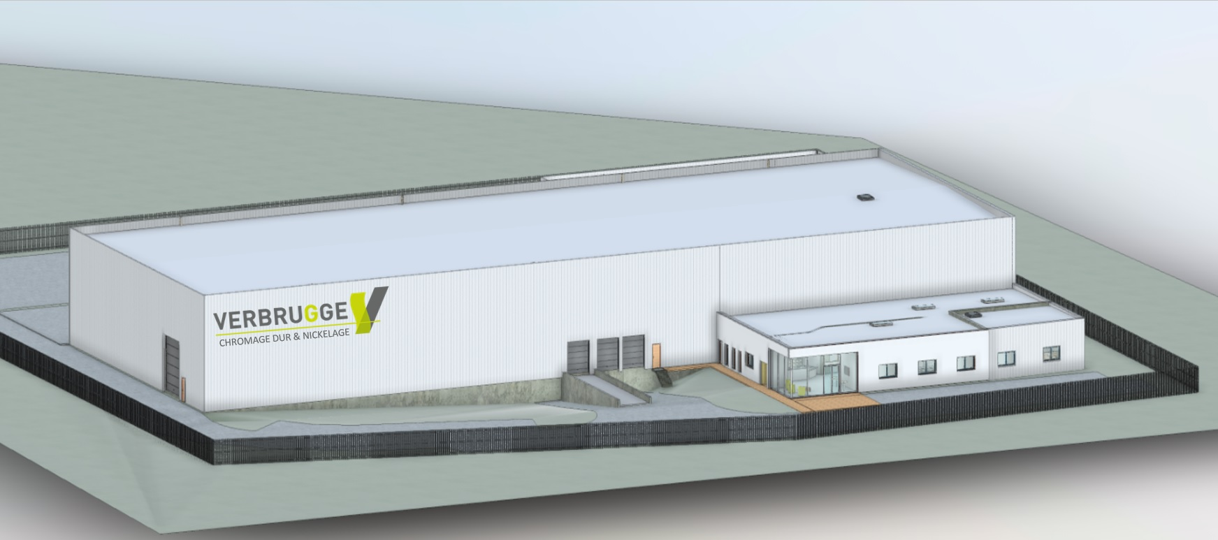 The « Nickel-Chrome 3 Mille» project will see hatching our new «high tech» multi-treatment line in this building